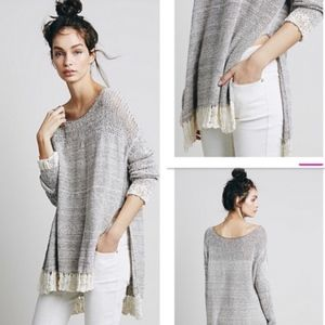Free People Haiku Oversized Pullover Sweater XS